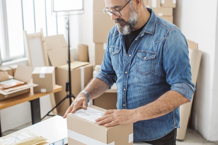 Easy Grip emballage Distributeurs de ruban Entrepôt d/'Expédition Boîte en carton emballage colis